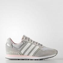 Frauen Adidas Neo Grau Zwei/Schuhwerk Weiß/Eisig Rosa Schuhe Bb9801