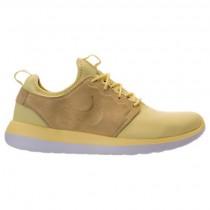 Herren Nike Roshe Two Br Schuhe 898037 700 Beige Gelb/Weiß/Schwarz