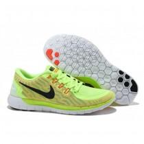 Fluoreszierend Grün/Orange Nike Free 5.0 V2 Damen Schuhe