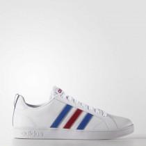 Adidas Neo Vs Advantage Herren Schuhe F99255 Weiß/Blau/Leistung Rot
