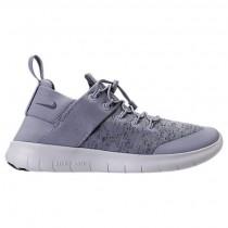 Licht Blau/Licht Blau/Aus Weiß Damen Nike Free Rn Commuter 2018 Premium Sneaker Aa1622 002