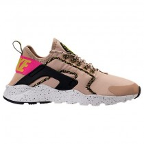 Damen Mushroom/Deadly Rosa/Schwarz/Weiß Nike Air Huarache Run Ultra Si Schuh 881100 200