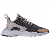 Damen Nike Air Huarache Run Ultra Schuh 859516 102 Licht Orewood Braun/Blur Grau