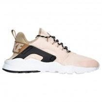 Nike Air Huarache Run Ultra Damen Rosa Beige/Khaki/Schwarz/Weiß Schuh 859516 100