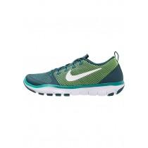 Damen Herren Nike Performance Free Train Versatility Sports Schuh - Mitternacht Türkis/Weiß/Rio Knickente/Hyper Jade/Volt