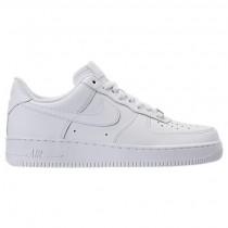Weiß/Weiß Herren Nike Air Force 1 Niedrig Schuh 315122 111