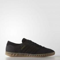 Schwarz Männer Adidas Originals Hamburg Schuh