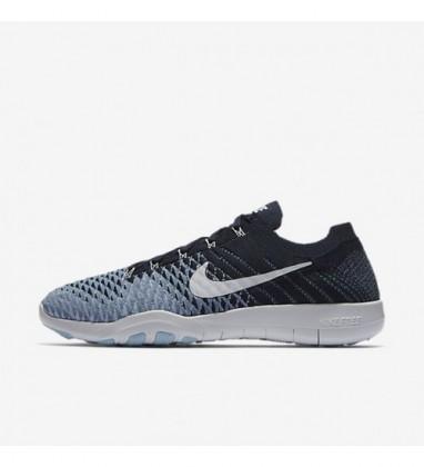 Frauen Nike Free Tr Flyknit 2 904658-400 Schuh - Hochschule Marine/Arbeit Blau/Wasserstoff Blau/Weiß