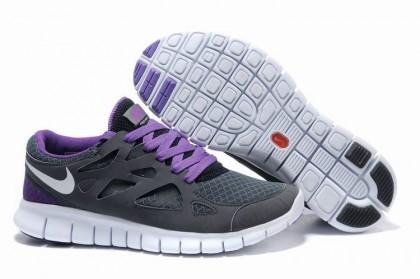 Grau Lila Weiß Nike Free Run 2 Herren Schuh