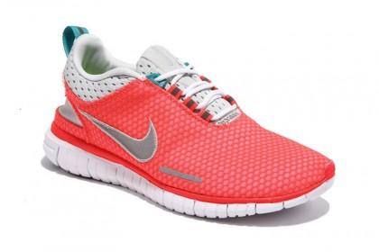 Rosa Weiß Frauen Nike Free Og Breathe Id Schuhe