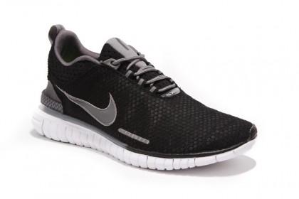 Herren Nike Free Og Breathe Id Schwarz Kohlenstoff/Grau Schuh