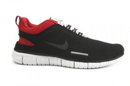 Schwarz Rot Nike Free Og Id Damen Sneaker