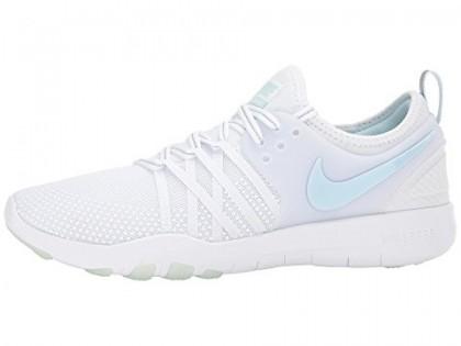 Nike Free Tr 7 Reflektieren Damen Schuh Im Weiß/Licht Blau