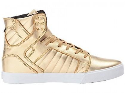 Supra Skytop X Modelo Männer Gold/Weiß/Modelo Schuhe