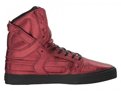 Supra Skytop Ii Herren Sneaker Im Brick Rot/Schwarz
