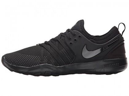 Schwarz/Schwarz/Dunkel Grau Nike Free Tr 7 Damen Schuh