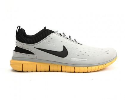 Herren Nike Free Og Id Schuh Licht/Grau Schwarz Gelb Sneaker