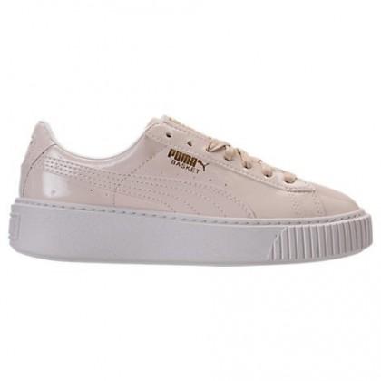 Rosa Beige/Rosa Beige Puma Basket Platform Damen Schuhe 36331402 002