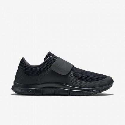 Herren/Damen Nike Free Socfly Schwarz/Fluoreszierend Grün/Schwarz