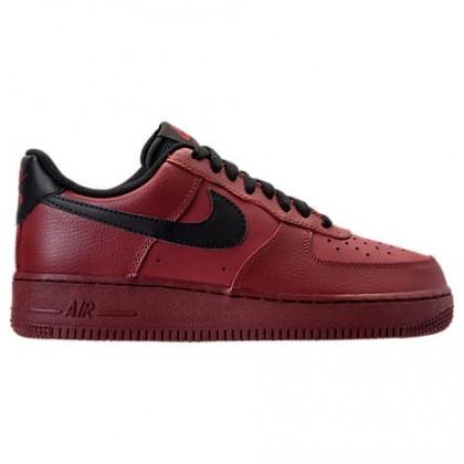 Herren Mannschaft Rot/Schwarz Nike Air Force 1 Low Schuh 315122 614