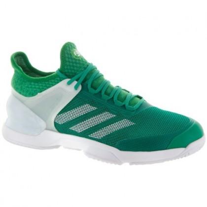 Ader Grün/Weiß Männer Adidas Adizero Ubersonic 2 Clay Schuhe