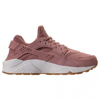 Nike Air Huarache Run Sd Damen Schuh Aa0524 600 Partikel Rosa/Gum Mittel Braun/Elfenbein