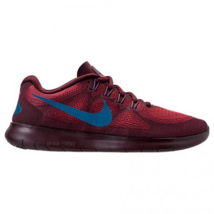 Herren Cedar/Industrial Blau/Night Chestnut Nike Free Rn Sneaker 880839 600