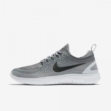 Nike Free Rn Distance 2 Herren Cool Grau/Wolf Grau/Fluorescent Grün/Schwarz Schuhe