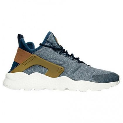Mitternacht Marine/Blau Grau Damen Nike Air Huarache Run Ultra Schuh 859516 400