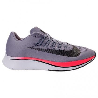 Frauen Nike Zoom Fly Damen Schuh 897821 516 Provence Lila/Schwarz/Licht Kohlenstoff