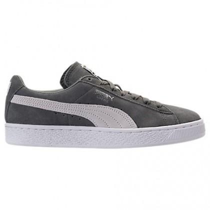 Herren Puma Wildleder Klassisch+ Agave Grün/Weiß Schuhe 36324207