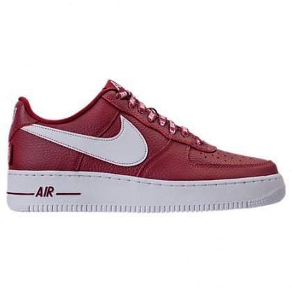 Männer Nike Nba Air Force 1 '07 Lv8 Schuh 823511 605 Mannschaft Rot/Weiß