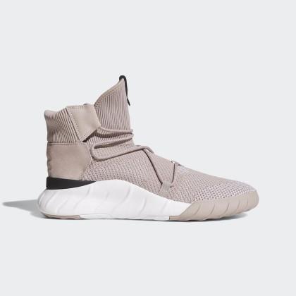 Männer Dampf Grau/Laufen Weiß/Schwarz Adidas Originals Tubular X 2.0 Primeknit Schuhe Cq0969