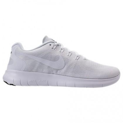 Weiß/Schwarz/Grau Weiß Nike Free Rn 2018 Herren Schuhe 880839 100