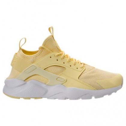 Beige Gelb/Gipfel Weiß Herren Nike Air Huarache Ultra Breathe Schuh 833147 701