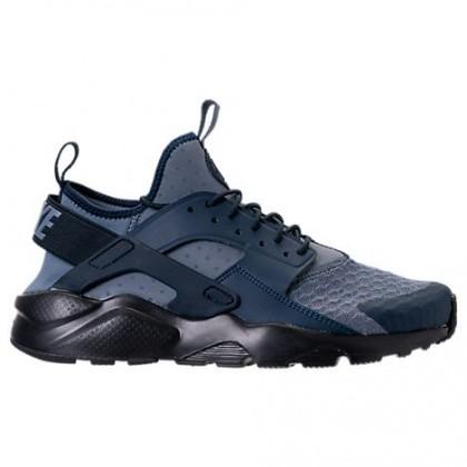 Waffenkammer Blau/Schwarz Nike Air Huarache Run Ultra Männer Sneaker 819685 407