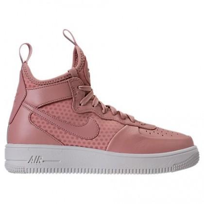 Nike Air Force 1 Ultraforce Mitte Damen Schuhe 864025 600 - Partikel Rosa/Beige