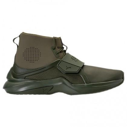 Puma X Rihanna Fenty Hi Damen Army Grün Schuhe 19039802 002