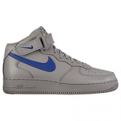Männer Nike Air Force 1 Mitte Schuhe 315123 040 Im Staub/Tief Königlich Blau