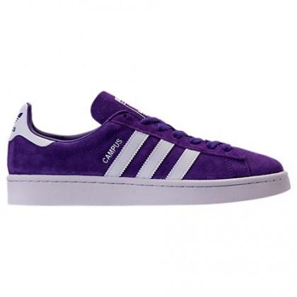 Lila/Schuhwerk Weiß Herren Adidas Originals Campus Schuhe Bz0075