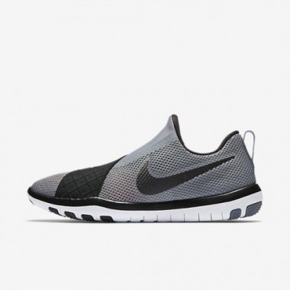 Cool Grau/Grau Weiß/Weiß/Schwarz Nike Free Connect Nike 843966-005 Damen Schuhe