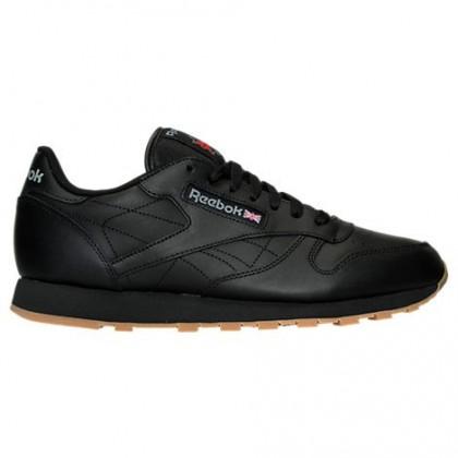 Reebok Classic Leder Gummi 49798 Schwarz/Braun Männer Schuhe