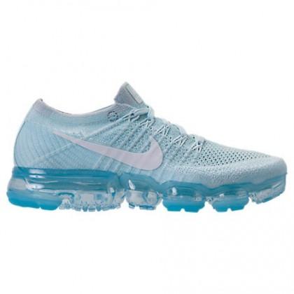 Frauen Licht Blau/Weiß/Grau Weiß Nike Air Vapormax Flyknit Sneaker 849557 404