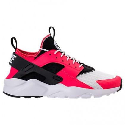 Nike Air Huarache Run Ultra Herren Schuhe 819685 603 Sirene Rot/Schwarz/Weiß/Fluoreszierend Grün