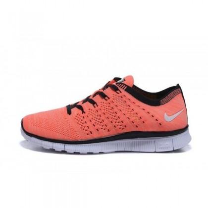 Orange/Schwarz Damen/Herren Schuh Von Nike Free Flyknit Nsw