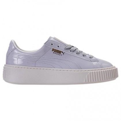 Halogen Blau/Halogen Blau Damen Puma Basket Platform Schuh 36331401 001