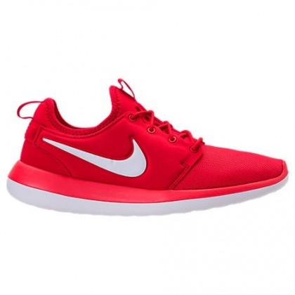 Herren Nike Roshe Two Sneaker 844656 601 Universität Rot/Weiß/Spur Rot