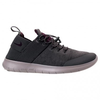 Dunkel Grau/Granatapfel Rot/Grau Herren Nike Free Rn Commuter Premium Schuhe Aa2430 003