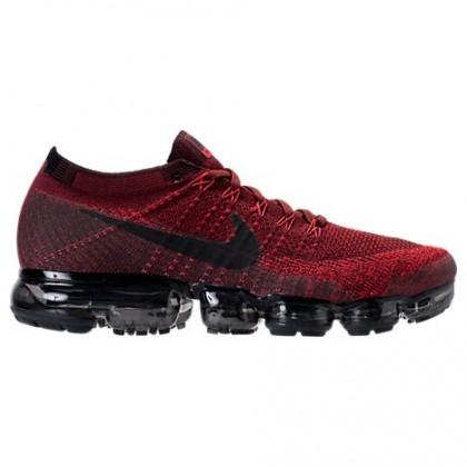 Dunkel Mannschaft Rot/Schwarz/Universität Rot Männer Nike Air Vapormax Flyknit Schuh 849558 601