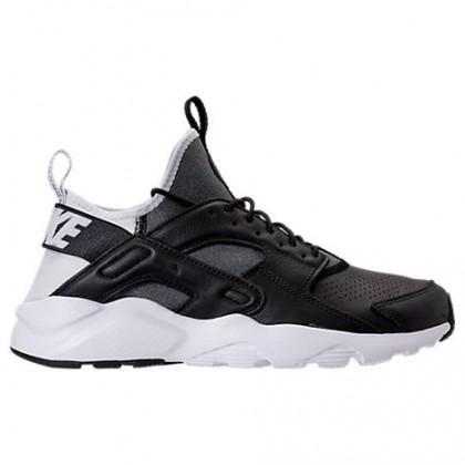 Herren Nike Air Huarache Run Ultra Se Schuhe 875841 004 Schwarz/Schwarz/Weiß